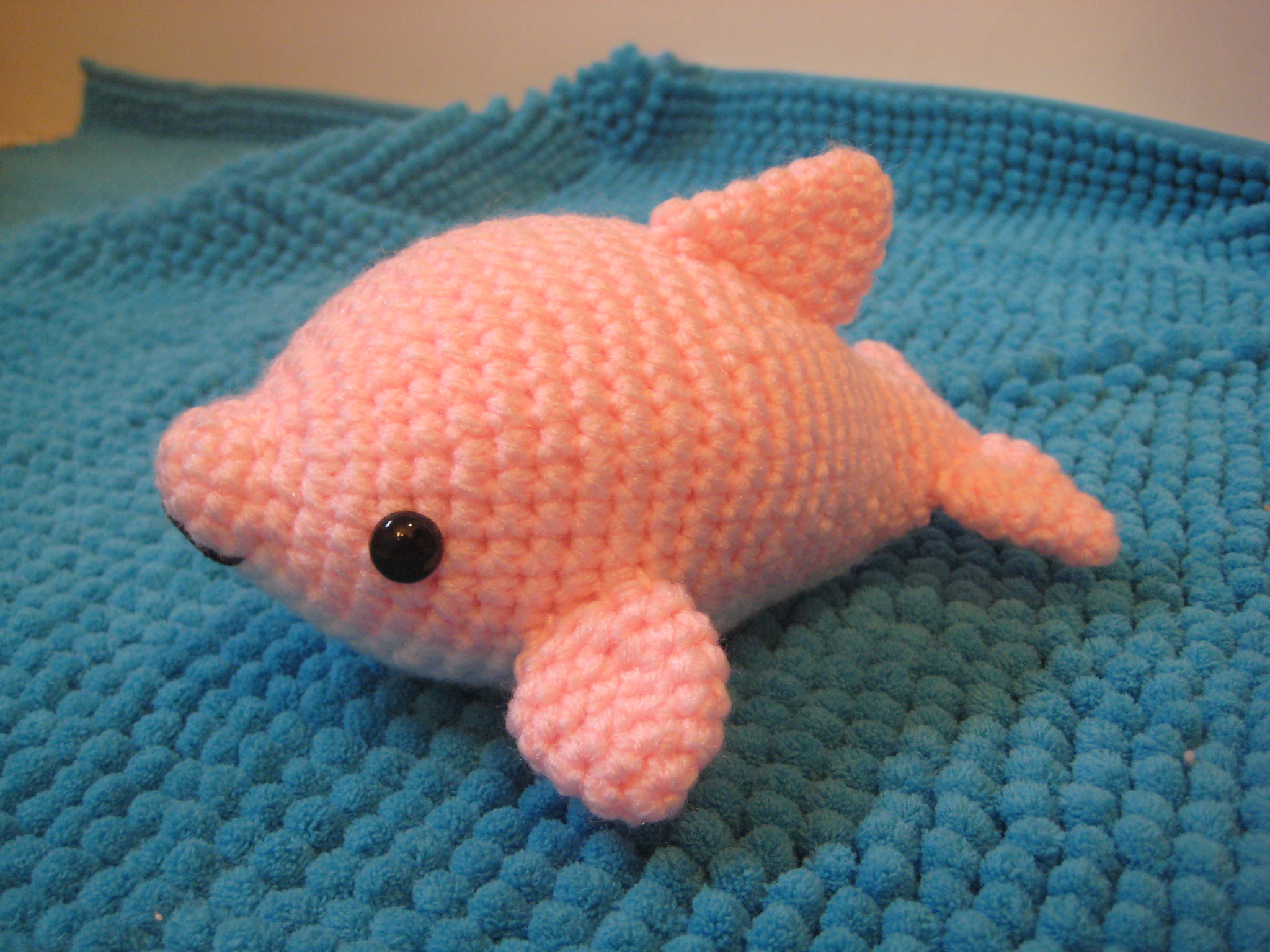 Crochet Dress Pattern For American Girl Doll : Cute Baby Pink Dolphins - Viewing Gallery