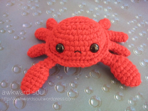 Crab Amigurumi pattner by AwkwardSoul (3)