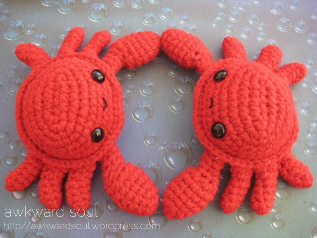 Amigurumi Crab : 301 Moved Permanently