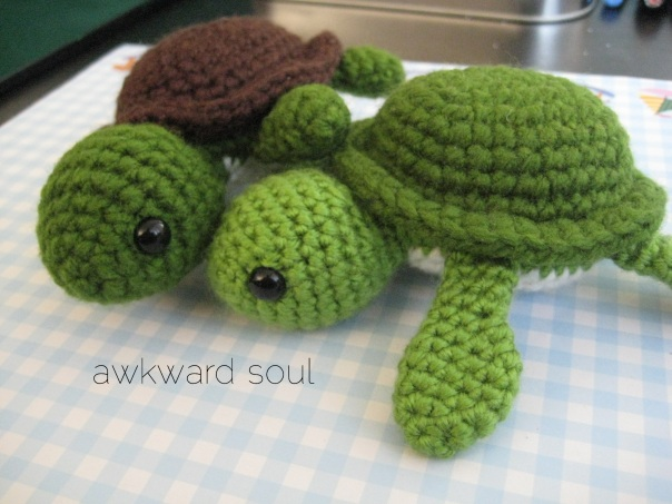 Turt the Turtle Amigurumi Crochet PDF Pattern is up for sale at my ...