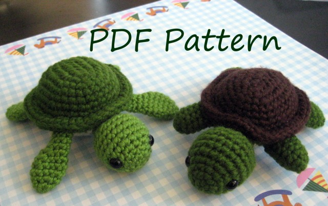 turt the turtle amigurumi pattern - awkward soul designs