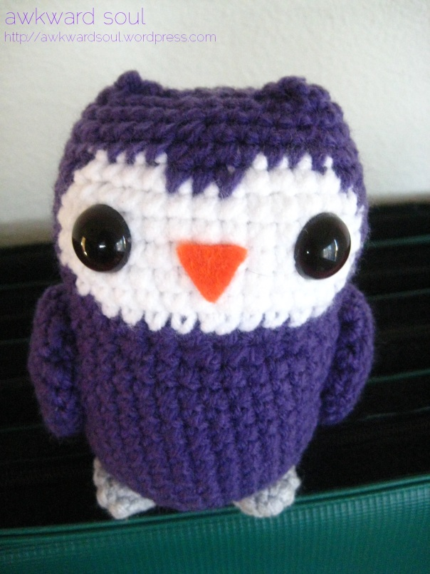 Owl Amigurumi by Awkward Soul Designs