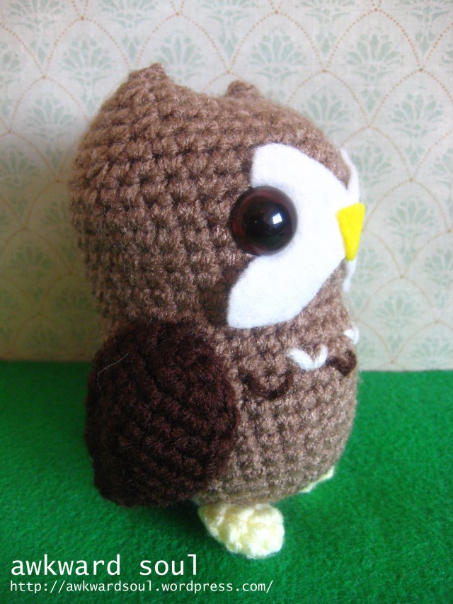 Owl Amigurumi Crochet pattern by awkward soul designs (11)