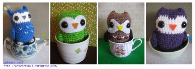 Owl Amigurumi Crochet pattern by awkward soul designs (2)