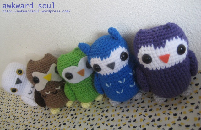 Owl Amigurumi Crochet pattern by awkward soul designs (6)