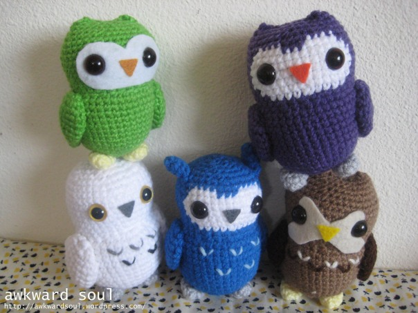 Owl Amigurumi Crochet pattern by awkward soul designs (8)