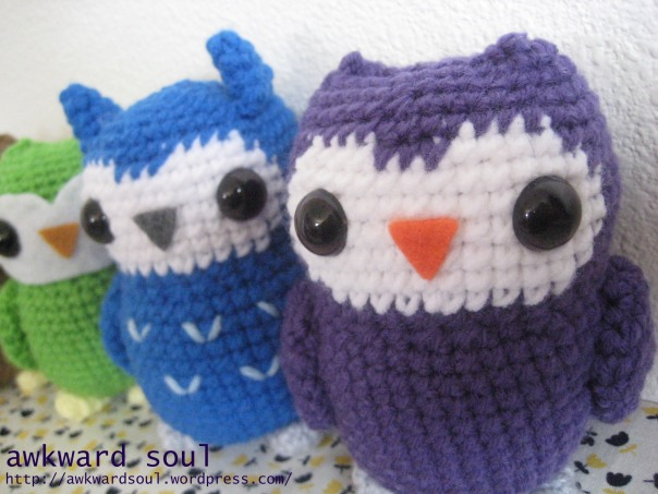 Owl Amigurumi Crochet pattern by awkward soul designs (9)