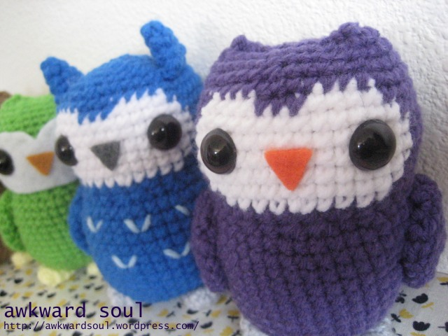Owl Amigurumi Crochet pattern by awkward soul designs (9)