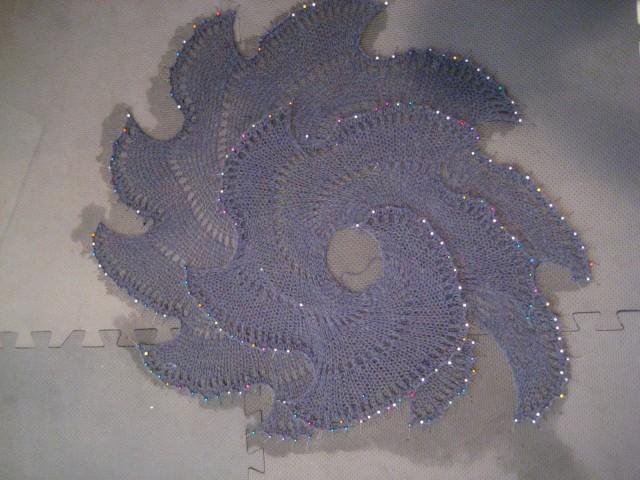 Awkwardsoul Lichen Knitted Shawl (6)
